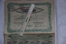 Société des plantations de Bantam 1907 La Haye s'Gravenhague