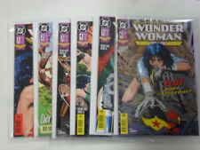 6x WONDER WOMAN - Heft Nr. 1 - 6.  Dino, DC Comic / Z. 1/1-2
