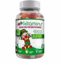Halal Certified & Kosher Certified - Multi-Vitamins For Kids - Sugar Free - USA