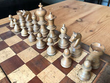 Antique/Vintage Continental Staunton Chess Set, K 8.5cm