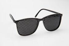 Rasterbrille 415-YSG ganzflächiger Raster, schwarz