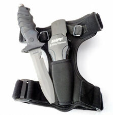 RIFF - Beta-Titan Tauchermesser - 125 mm Klinge - mit Holster