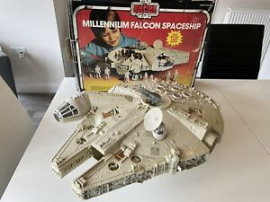 Vintage Star Wars Millennium Falcon with Box Millenium Boxed Original