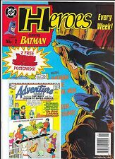 DC Comics - Heroes Weekly Comic - #2 1991 - With FREE Gift Postcards