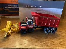 First Gear Mack-R-Model, Dump Truck w/Plow, Wood Trucking Corp., 1/34 Scale