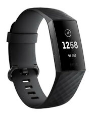 FACTORY SEALED Charge 3 Heart Rate & Fitness Band Activity Tracker Graph/Black