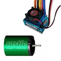 Castle CM36 6900 motor+Jurassic Power Gallimimus 120A ESC For 1/10 Car Buggy SCT