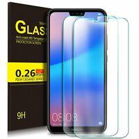 2x Huawei P20 Lite Panzerfolie Schutzglas Displayschutzfolie Echt 9H Hartglas