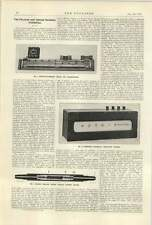 1922 Needham Electrical Revolution Counter Crompton Robertson Bridge
