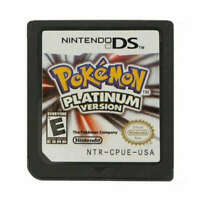 HOT Pokemon Platinum Version Game Card For Nintendo 3DS NDSI NDS NDSL Lite Gift