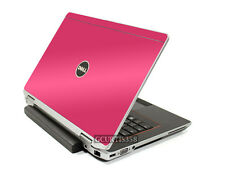 HOT PINK Vinyl Lid Skin Cover Decal fits Dell Latitude E6430 Laptop