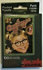 A Christmas Story 100-Piece Pocket Puzzle - New In Box Aquarius Htf