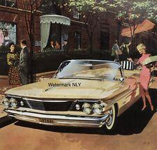 1960 Pontiac Bonneville Convertible Car Print Ad