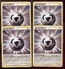 Pokemon METAL ENERGY 80/90 HGSS Undaunted - - MINT 4X