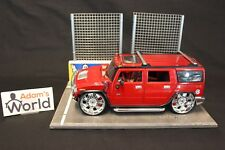 "Maisto Hummer H2 1:18 red ""Tuning Playerz"""