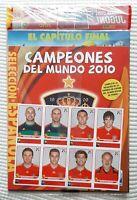 WORLD CUP 2010 PANINI UPDATE SPANISH STICKER + UPDATE ALBUM + SEALED MAGAZINE 20