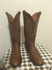 BROWN NOCONA WESTERN TRAIL BOSS COWBOY BOOTS 11 D