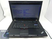 """Lenovo ThinkPad T510 Intel i5 2.40GHz 4GB RAM 160GB HDD 15"""" 89176AL"""