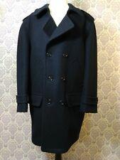 VTG Mens Classic Wool Peacoat Navy Blue Size 38R London Fog Maincoats Canada