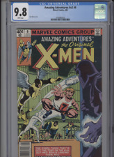 AMAZING ADVENTURES V2 #9 MT 9.8 CGC WHITE PAGES JOHN BYRNE MAGNETO BATTLE COVER