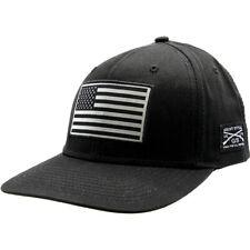 Ворчун стиль американский флаг шапка-черный