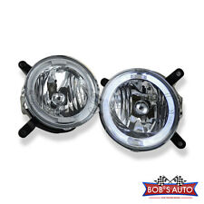 2005-2009 Ford Mustang GT Factory Style Clear Grille Driving Fog Lights Pair L+R