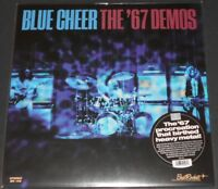 BLUE CHEER the '67 demos USA LP new sealed BLUE VINYL poster BLACK FRIDAY 2018