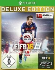 XBOX ONE JUEGO FIFA 16 Fußball 2016 goldsets AUS DELUXE EDT. abgelaufen NUEVO