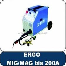 MIG MAG Schweißgerät 200A-IP Deutscher Hersteller D+L Technik