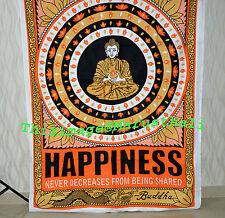Indian Bohemian Hippie Tapestry Throw Buddha Wall Hanging Bedspread Ethnic art