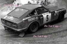 Rauno Aaltonen Datsun 240Z Monte Carlo Rally 1972 Photograph 3