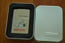ZIPPO Lighter, Vintage Aircraft - A6M Zero, 2007, Unfired M283