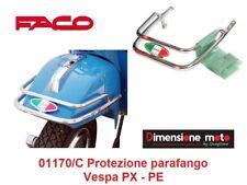 01170/C Protezione Parafango Anteriore Cromato FACO per Piaggio Vespa PX 125/150