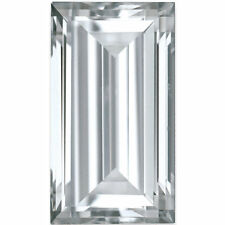 Charles and Colvard 4x2mm Step Baguette Forever One DEF Moissanite wCard