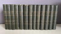 SCHILLERS sämtliche Werke 13 Bände + Supplement antik antiquarische Bücher 1853