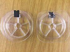 NUOVA plastica trasparente vuoto Bobine/Bobine con filo clip/Corda Elastica// 100pcs multifunzione