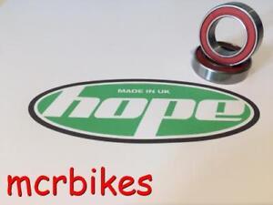 HOPE PRO 4 QR / 15mm / 20mm FRONT HUB BEARINGS CHROME /STAINLESS /CERAMIC