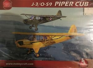 HOBBYCRAFT J-3/O-59 PIPER CUB (3 SCHEMES) FACTORY SEALED 1/48