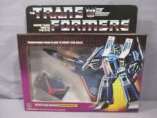 Transformers G1 THUNDERCRACKER Complete Decepticon *VINTAGE* 1984 Pre-Rub