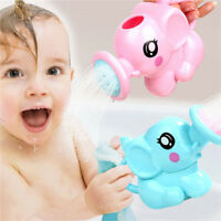 Small Elephant Watering Pot Baby Bath Toy Beach Play Water Sand Tool Toys S
