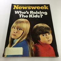 Newsweek Magazine: September 22 1975 - Who's Raising The Kids?