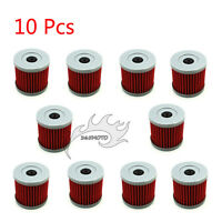 10x Oil Filter For KAWASAKI KLX400SR SUZUKI LTZ400 QUADSPORT DRZ400SM DRZ400E