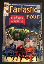 Fantastic Four #39 (Jun 1965, Marvel) DR. DOOM, EARLY X-OVER DAREDEVIL, WOOD INK