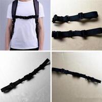 Verstellbare Brustgurt für Schulranzen Rucksack mit Schieber Nylon Gürtel F8V6