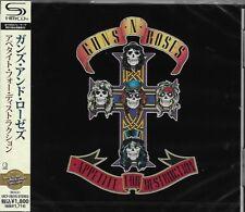 GUNS AND ROSES APPETITE FOR DESTRUCTION JAPAN 2011 RMST SHM HIGH FIDELITY CD