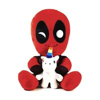 Kidrobot Marvel Phunny Deadpool With Unicorn Plush Figure NEW Toys Collectibles