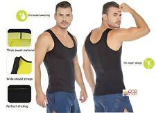 Xtreme Large Men Sweat Neoprene Gym Vest Fat Burning Redu Tank Tummy Fat Shaper