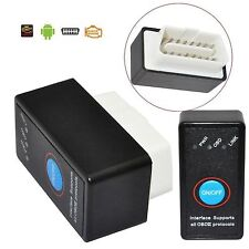 ELM327 Bluetooth OBD2 II Interface Android Auto-Diagnose Scanner Schalter ON/OFF