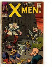 (Uncanny) X-Men # 11 VG/FN Marvel Comic Book Spider-Man Angel Beast Iceman FH2