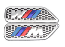 BMW M sport Car Fender Sticker Side Wing Badge Emblem Decal Sticker Msport logo